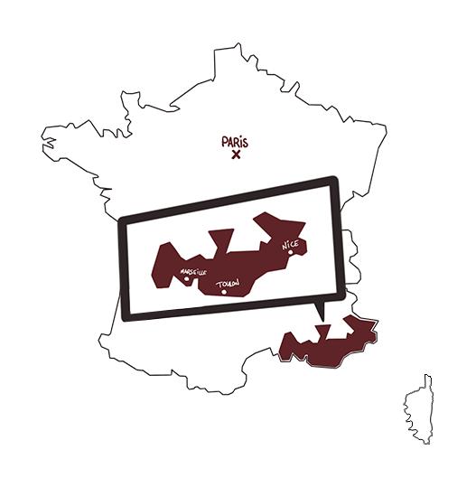 carte vins cotes de provence 2