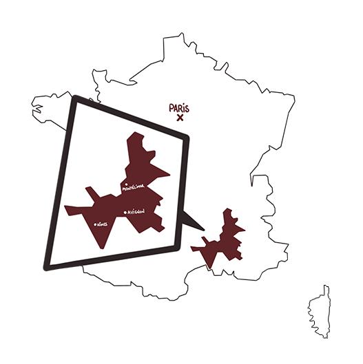 carte vins cotes du rhone 2